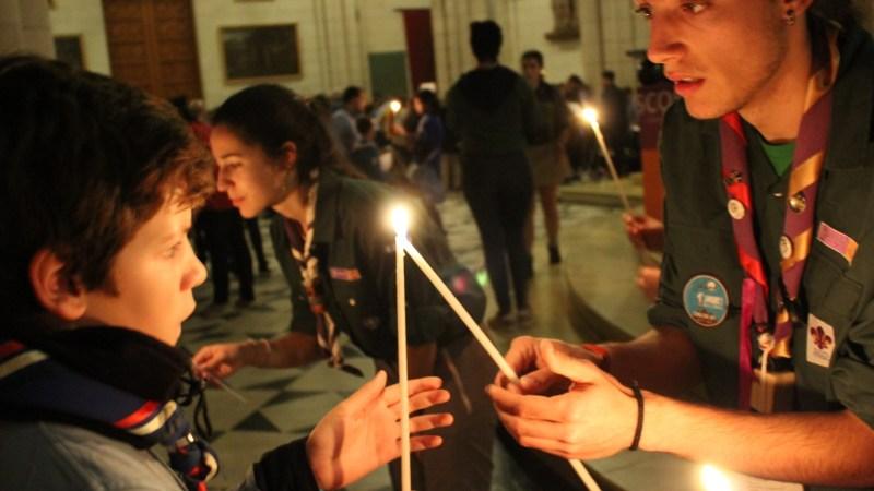 La Luz de Belén llega a Scouts de Madrid
