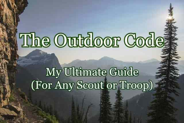 The Outdoor Code