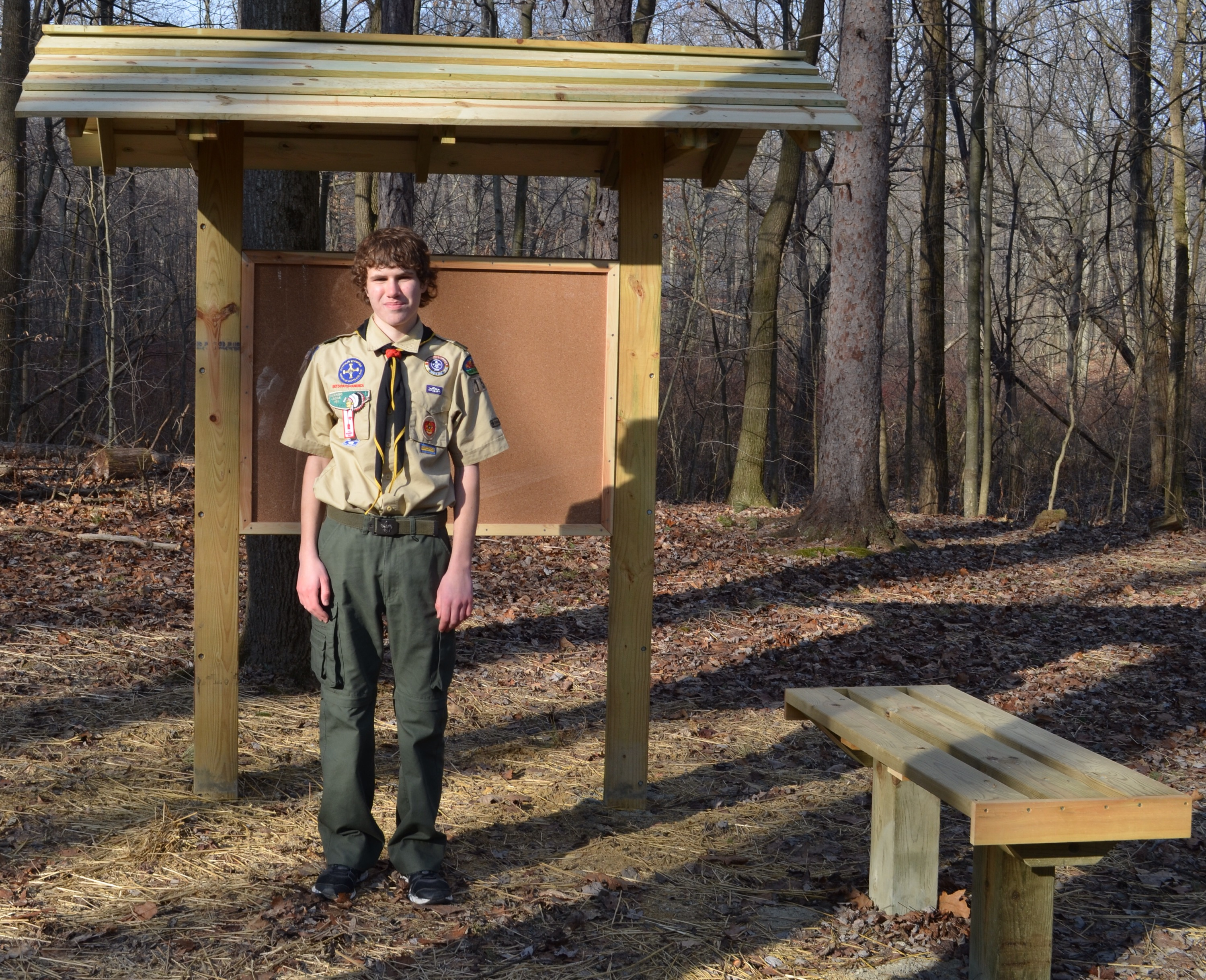Congratulations To Tommy Muha Scout Troop 155