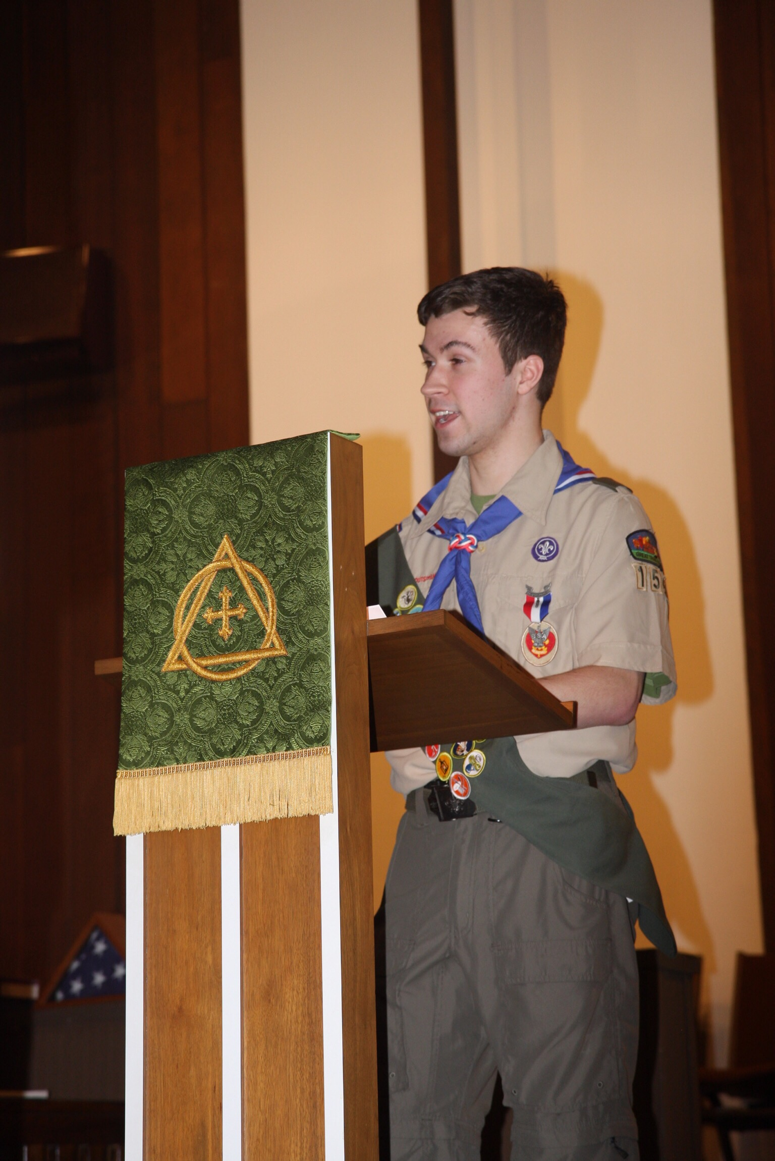 Max Lyman S Eagle Court Of Honor Scout Troop 155
