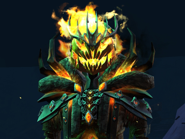 Mad King Thorn, ready to play a round of Guild Wars 2 Mad King Says