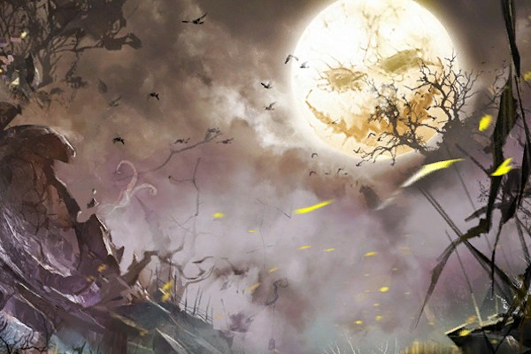 Mad King's Labyrinth loading screen from Guild Wars 2