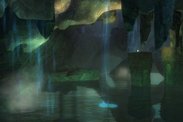 The Scavenger's Chasm jumping puzzle in Guild Wars 2