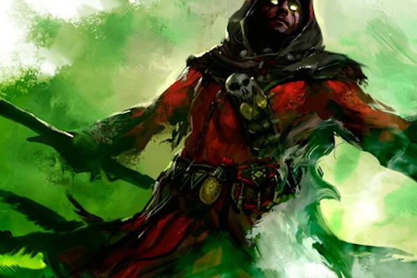 Guild Wars 2 Necromancer concept art