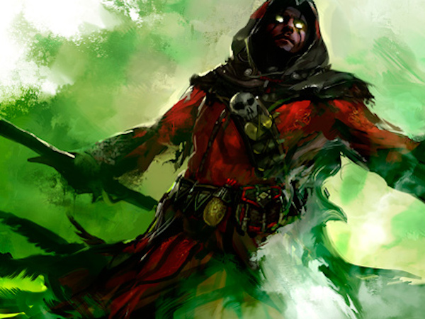 Guild Wars 2 Necromancer concept art