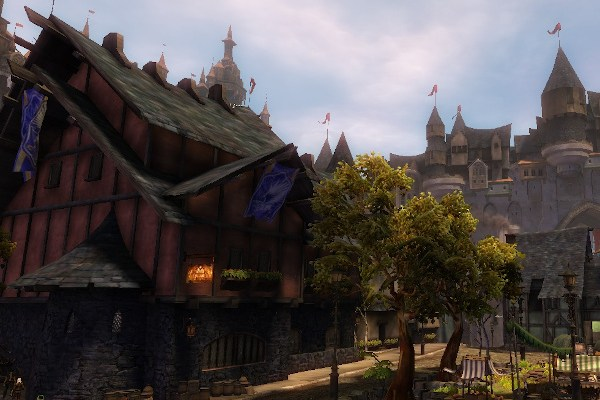 The Salma District, player home instance in Guild Wars 2 Divinity's Reach map