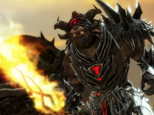 Concept art of Rytlock Brimstone the Guild Wars 2 Revenant