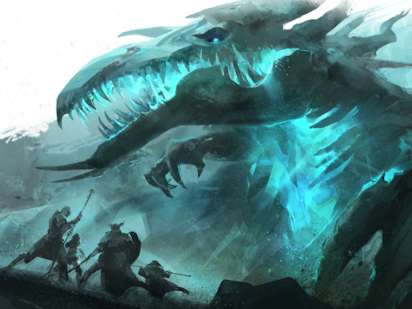 Concept art for Guild Wars 2 Shadow in the Ice
