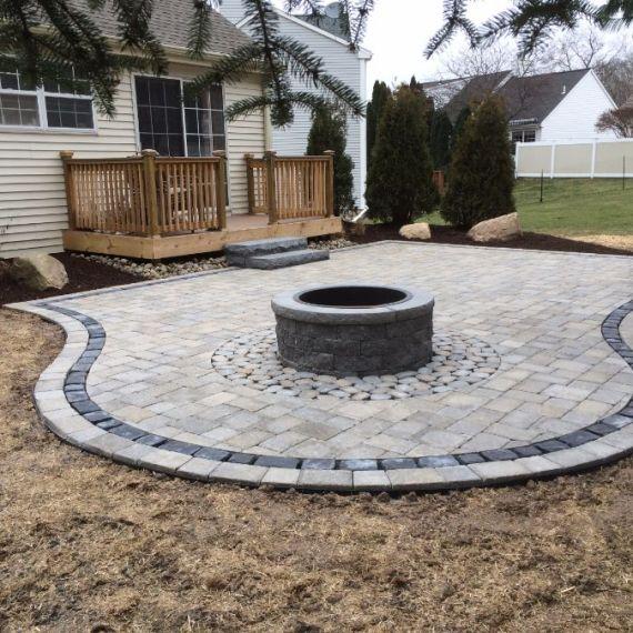 Outdoor Fire Pit, Plantings, Patios, design, Scovills landscape, landscape design, landscaping, landscapes, landscape patio design