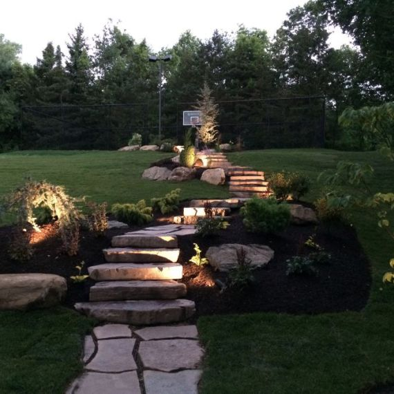 Walkways, Walls, & Steps, Plantings, Patios, design, Scovills landscape, landscape design, landscaping, landscapes, landscape patio design