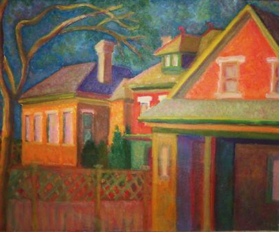 Backyards, Late Afternoon