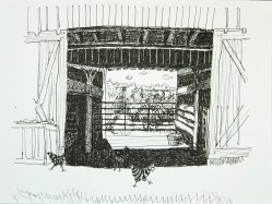 Barn With Chickens