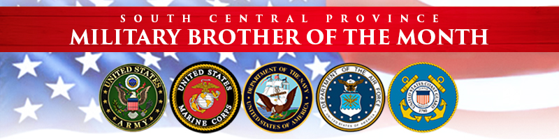 Submit for Military Brother of the Month.
