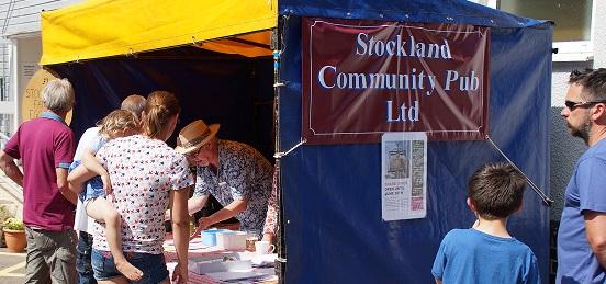Strockland Fair - SCPL stall