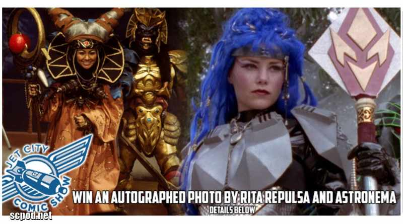 Jet City Comic Show 2019 – Win an Autographed Photo by Carla Perez and Melody Perkins!