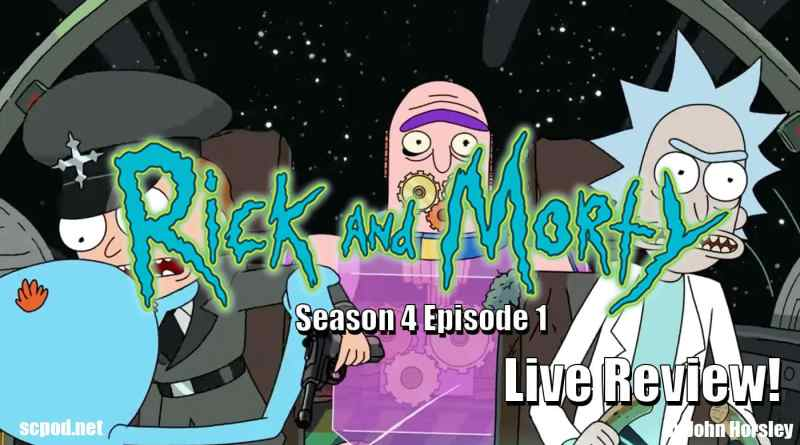 Rick and Morty: S4E1 – Edge of Tomorty: Rick Die Rickpeat – Review
