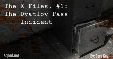 The K Files, Entry #1:  The Dyatlov Pass Incident