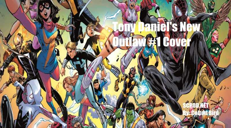 Tony Daniel's New Outlaw #1 Cover