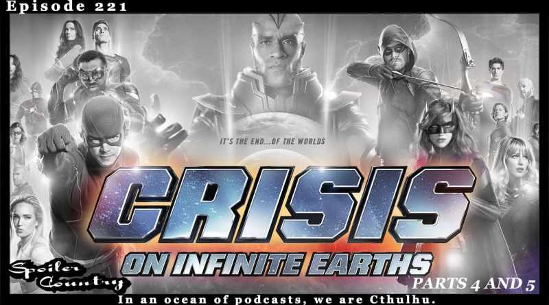 Crisis on Infinite Earths – Parts 4 and 5