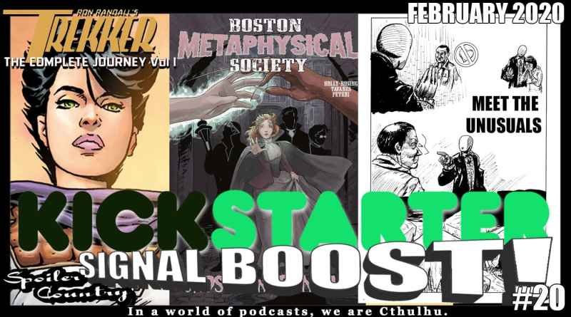 KSB#20 – Trekker! Boston Metaphysical! Meet the UnUsuals!