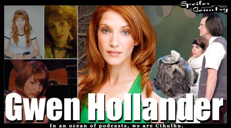 Gwen Hollander! Kidding! Future Man! Avenue Q!