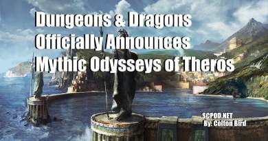 Dungeons & Dragons Officially Announces Mythic Odysseys of Theros