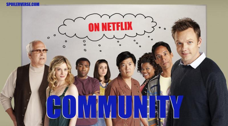 Community NOW on Netflix!