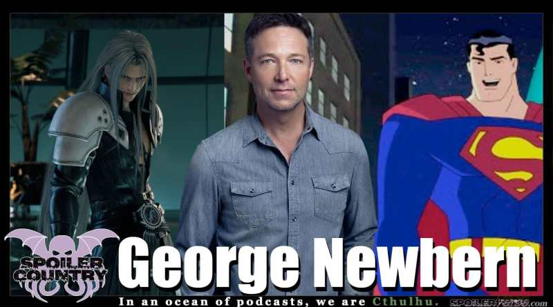 George Newbern – Superman! Sephiroth! Scandal! Father of the Bride!