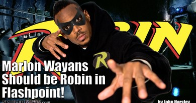 Marlon Wayans should be Robin in Flashpoint!