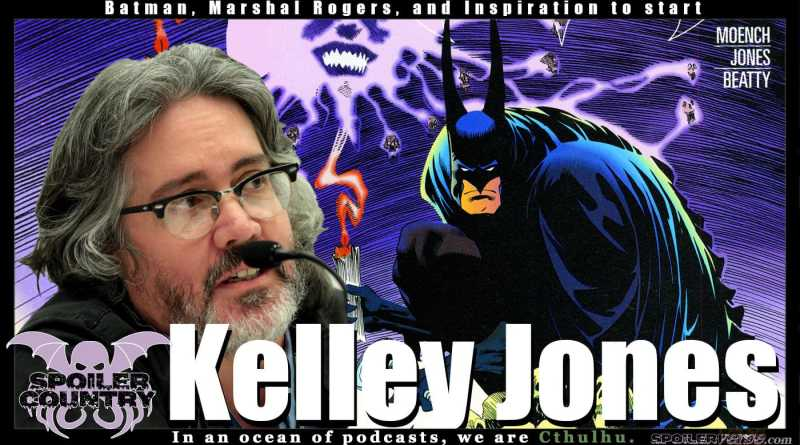 Kelley Jones – Batman, Marshal Rogers, and Inspiration to start