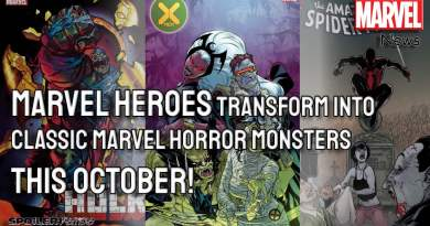 Marvel Heroes Transform into Classic Marvel Horror Monsters This October!