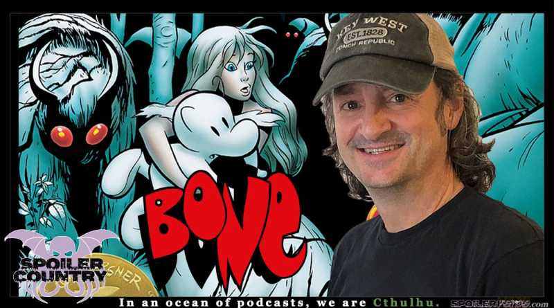 Bone Creator Jeff Smith hangs out with Casey and Aaron!