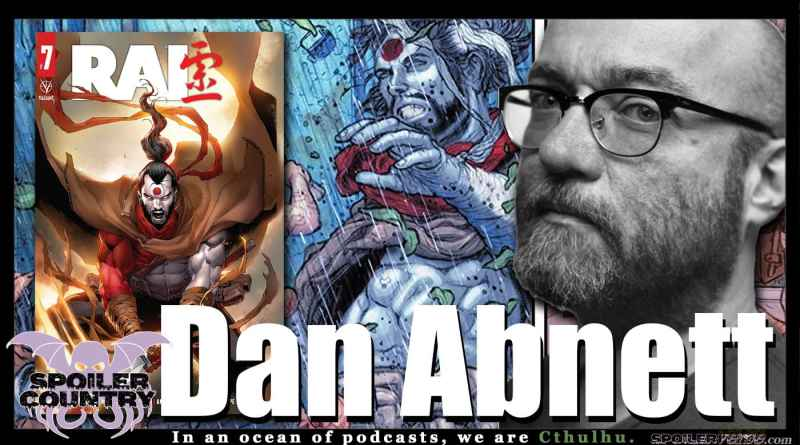Dan Abnett Talks Rai from Valiant Comics!
