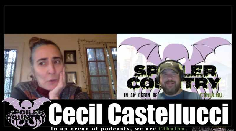 Cecil Castellucci has a drink, talks Batgirl, and kicks ass!