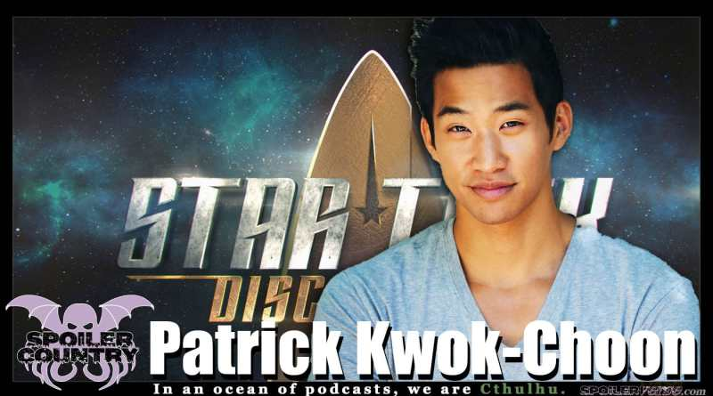 Patrick Kwok-Choon – Lt. Gen Rhys from Star Trek Discovery!