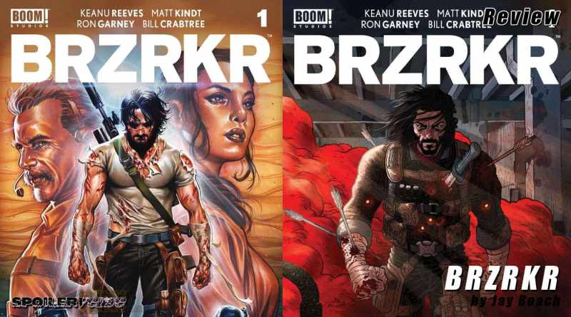 BRZRKR by Keanu Reeves and Matt Kindt (review)
