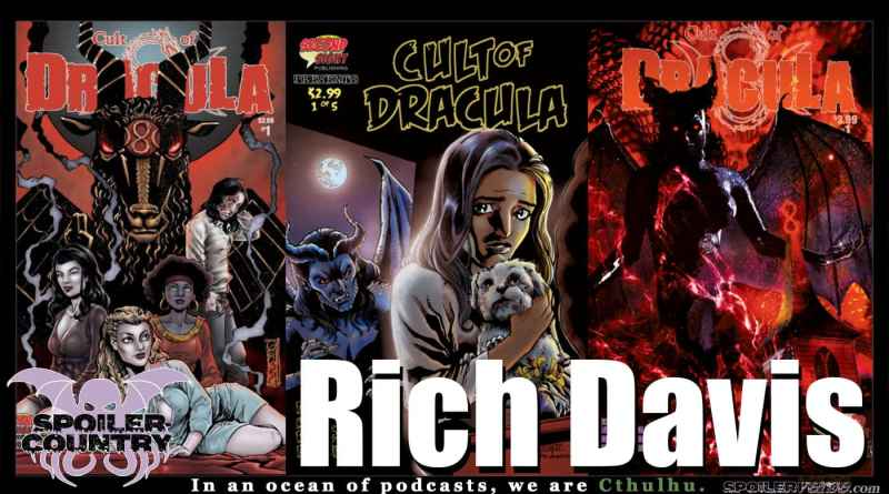 Cult of Dracula from Source Point Press with Writer Rich Davis!