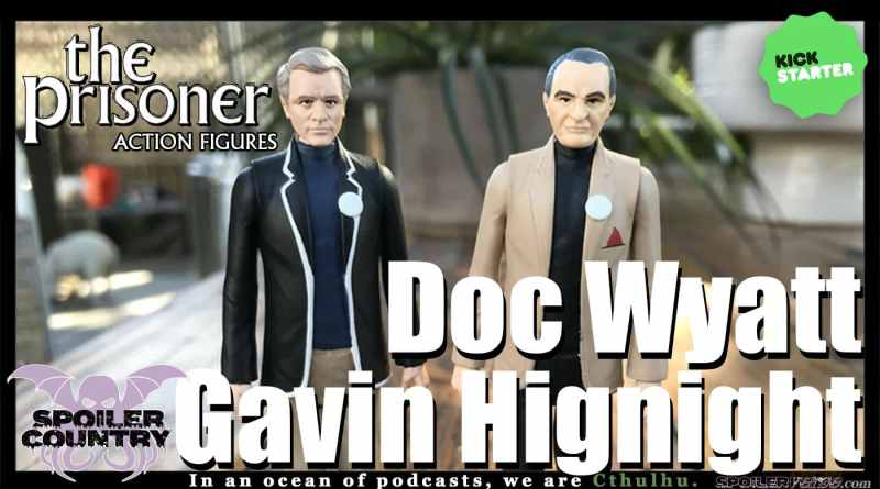 Wandering Planet Toys, Doc Wyatt and Gavin Hignight talk 'The Prisoner'
