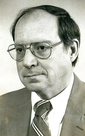 Kent Krell in 1987 as editor of the editorial page at the Columbia Record.