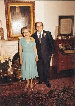 William Kinney's parents in 1981.