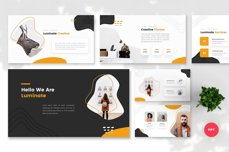 Luminate - Creative PowerPoint Template