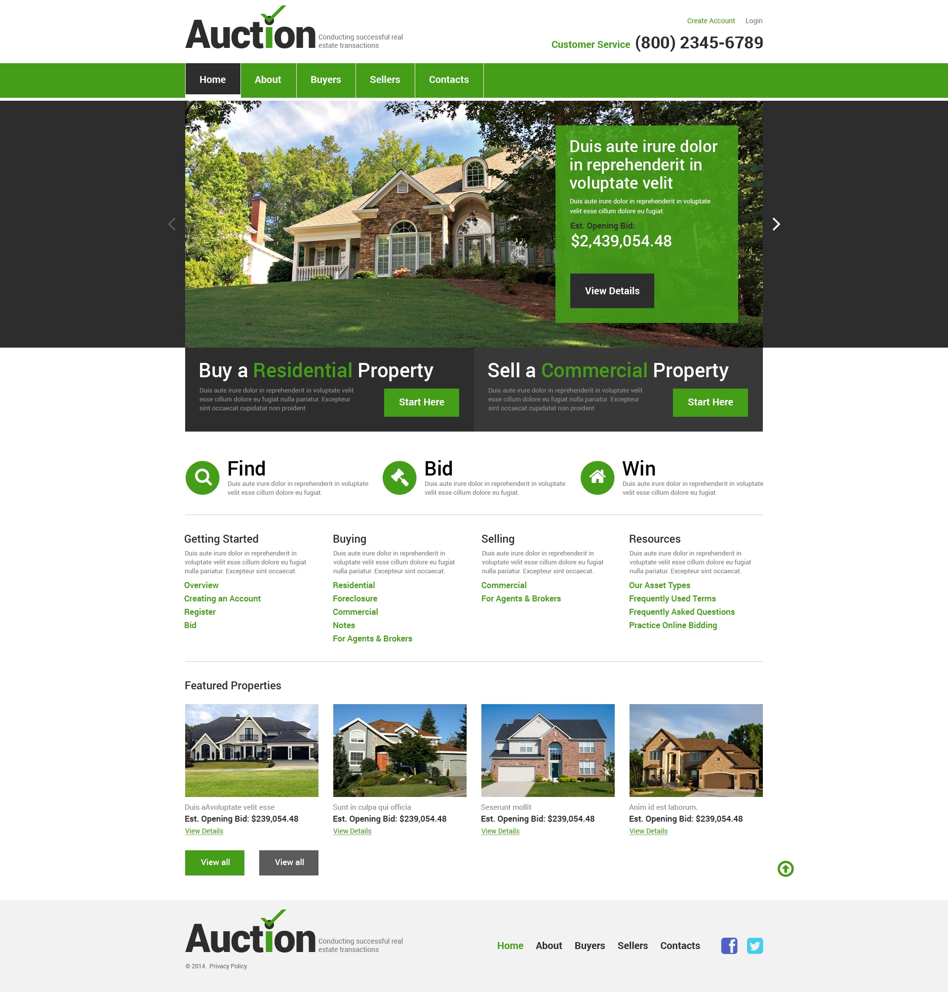 Free comparisons, demos and price quotes. Real Estate Agency Responsive Website Template