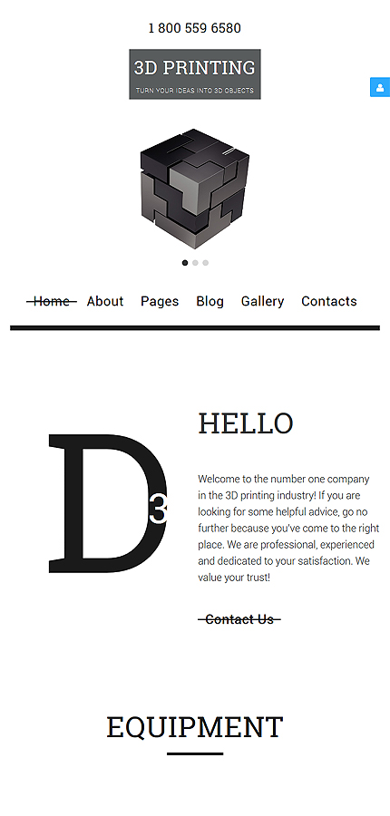Joomla Template 58031 in Art & Photography category