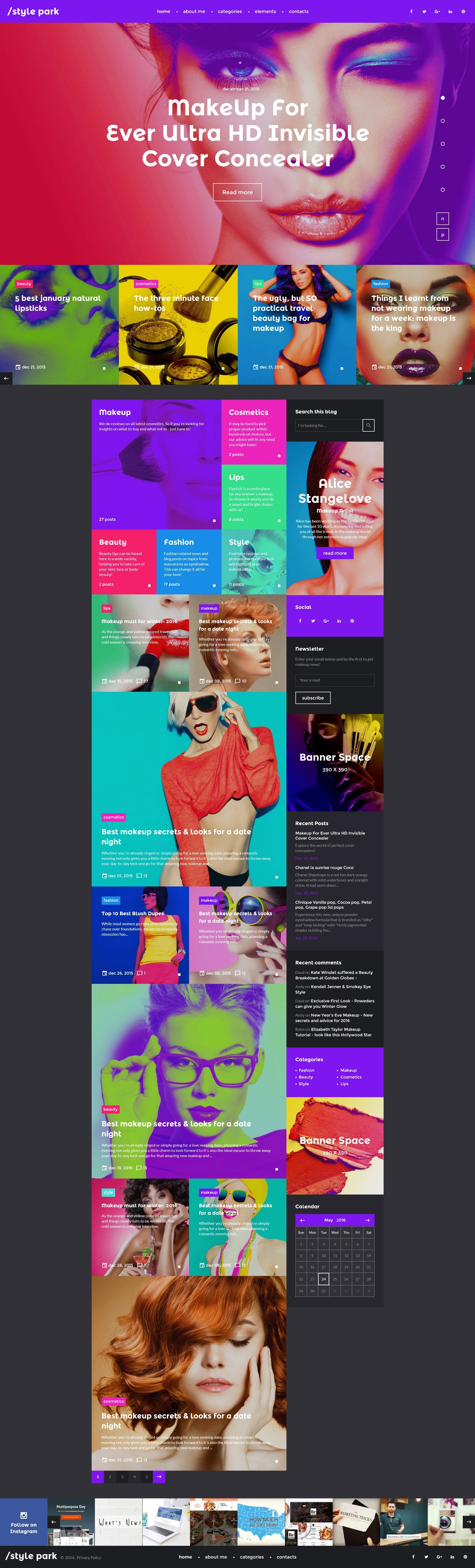 Style Park - Fashion Website Template