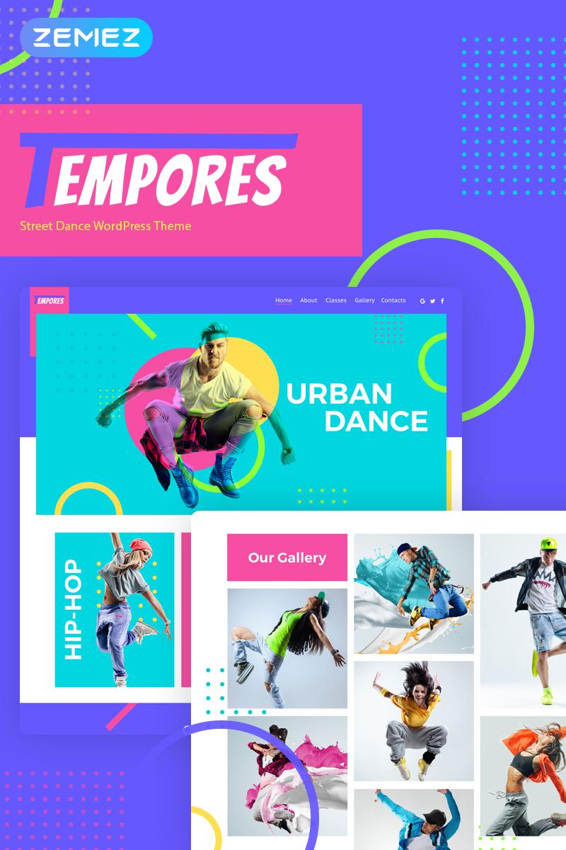 Tempores - Street Dance Elementor WordPress Theme