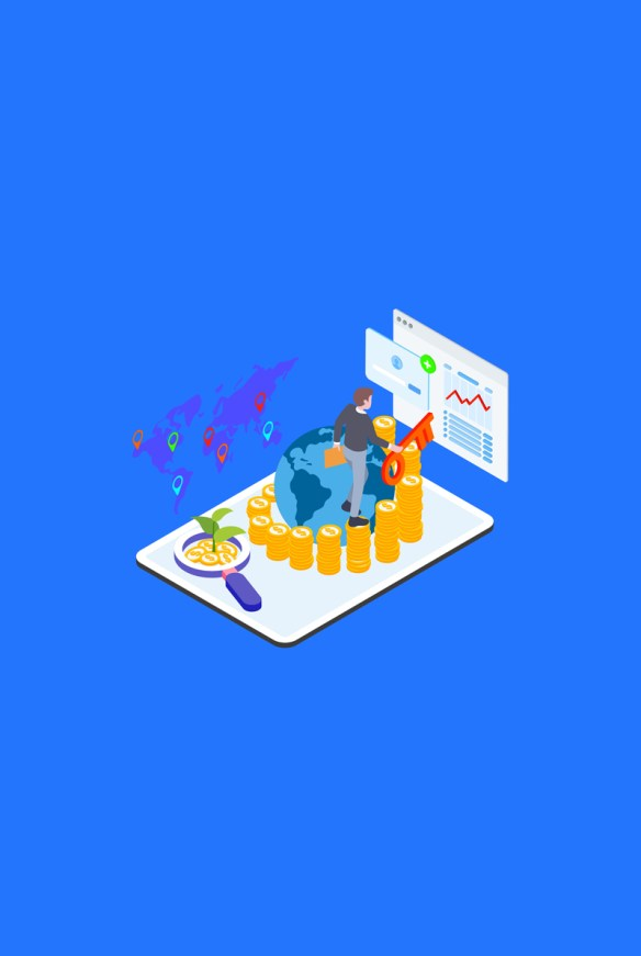 Financial Isometric Illustration