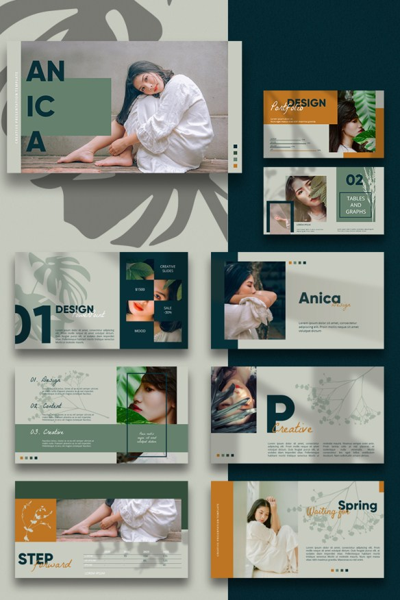 ANICA PowerPoint Template