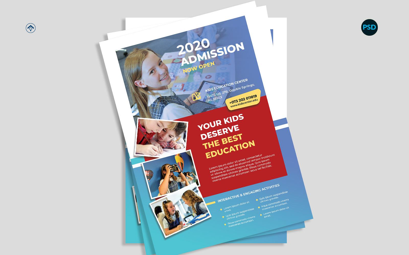 Education Promotion Flyer V1