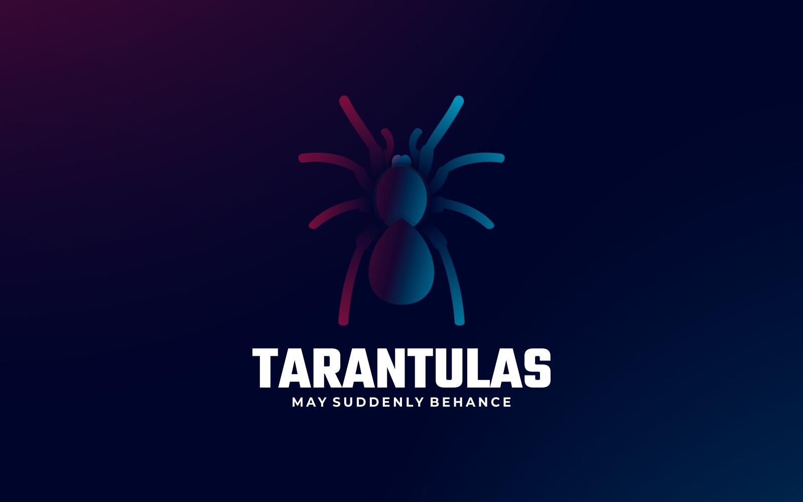 Tarantula Gradient Logo Style