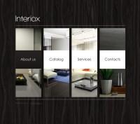 Interior Design Website Template #32632